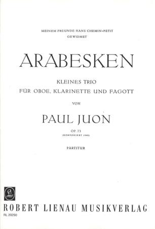 ARABESKEN Op.73 (score)