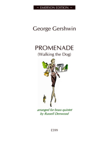 PROMENADE (Walking the Dog) score & parts - Digital Edition