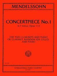 CONCERTPIECE No.1 in F minor Op.113