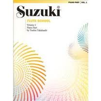 SUZUKI FLUTE SCHOOL Volume 2 Piano Accompaniment