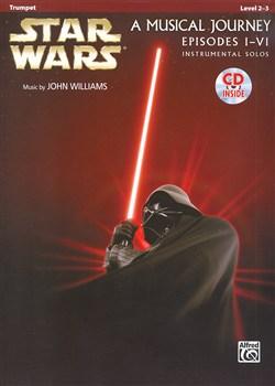 STAR WARS A Musical Journey Episodes (I-VI) + CD