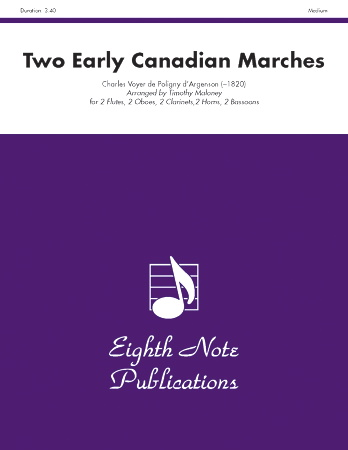 TWO EARLY CANADIAN MARCHES