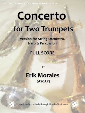 CONCERTO for Two Trumpets (score & parts on CD)
