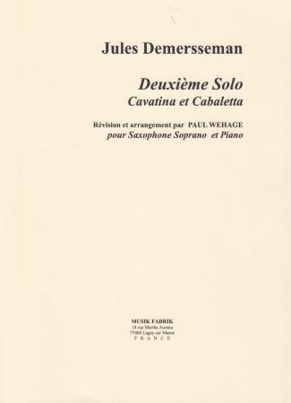 DEUXIEME SOLO Cavatina et Cabaletta