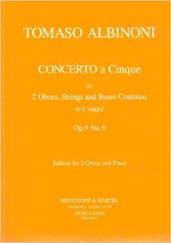 CONCERTO A CINQUE in C major, Op.9 No.9