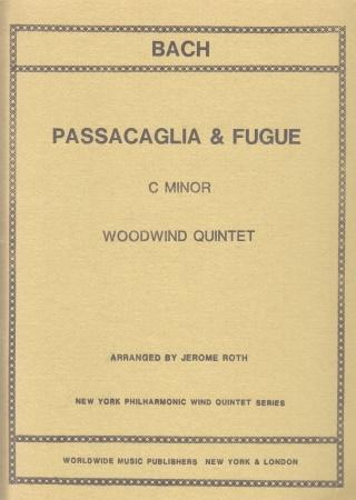 PASSACAGLIA AND FUGUE in C minor score & parts