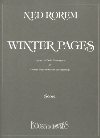 WINTER PAGES