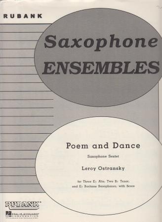POEM AND DANCE score & parts