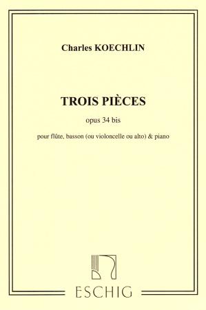 TROIS PIECES Op.34 bis
