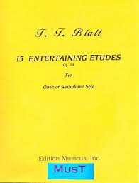 15 ENTERTAINING ETUDES Op.24