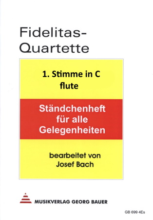 FIDELITAS QUARTETTE Part 1 in C flute