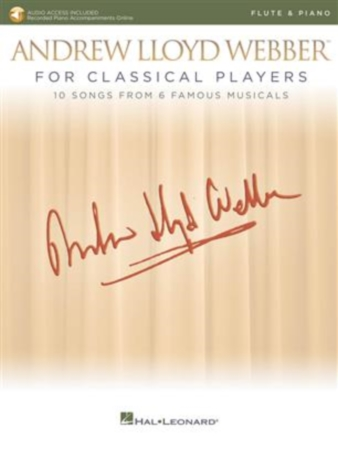 ANDREW LLOYD WEBBER FOR CLASSICAL PLAYERS + Online Audio