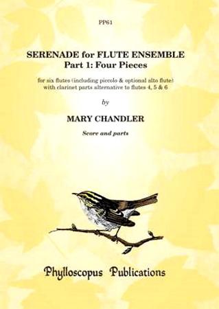 SERENADE FOR FLUTE ENSEMBLE Part 1 score & parts