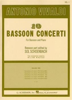 10 BASSOON CONCERTI Volume 1