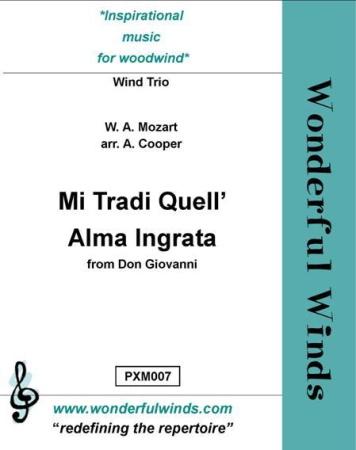 MI TRADI QUELL' ALMA INGRATA (score & parts)