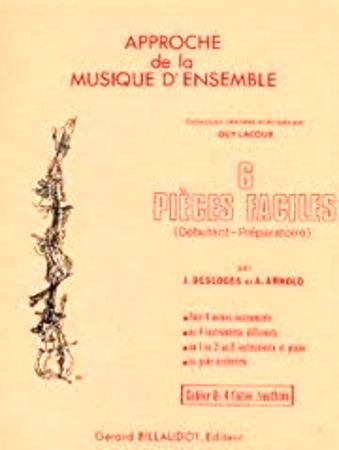 SIX PIECES FACILES Book G playing score