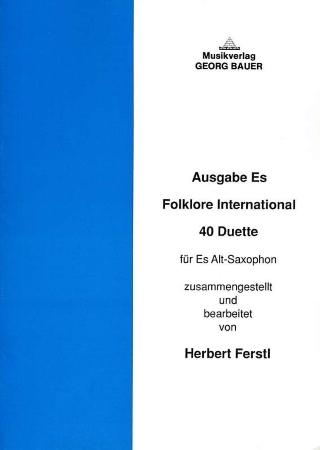 FOLKLORE INTERNATIONAL (E flat Edition)
