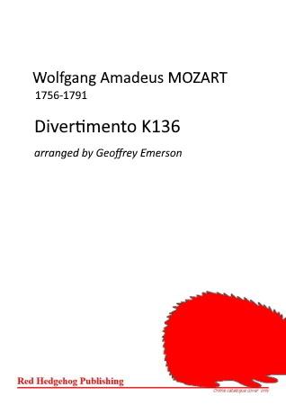 DIVERTIMENTO K136 (score & parts)