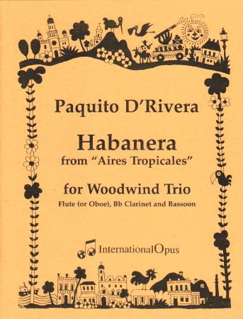 HABANERA (score & parts)