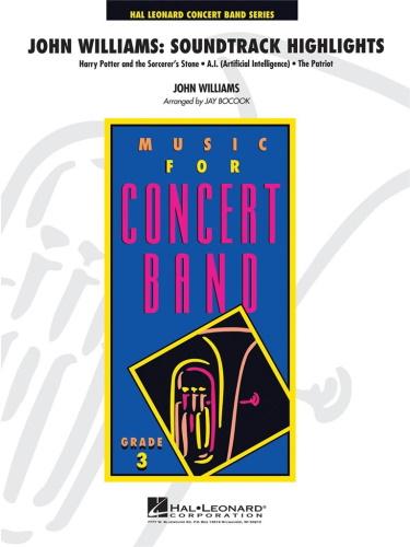 JOHN WILLIAMS: SOUNDTRACK HIGHLIGHTS (score & parts)