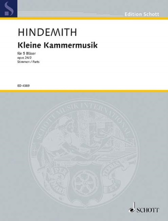 KLEINEKAMMERMUSIK Op.24 No.2 (set of parts)
