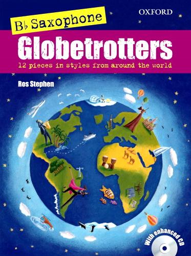 Bb SAXOPHONE GLOBETROTTERS + CD