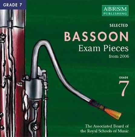BASSOON Grade 7 2CDs 2006+