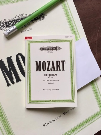 STICKY NOTES Mozart - Requiem
