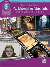 TOP HITS from TV, Movies & Musicals + CD