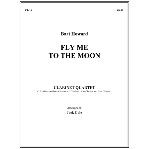 FLY ME TO THE MOON (score & parts)