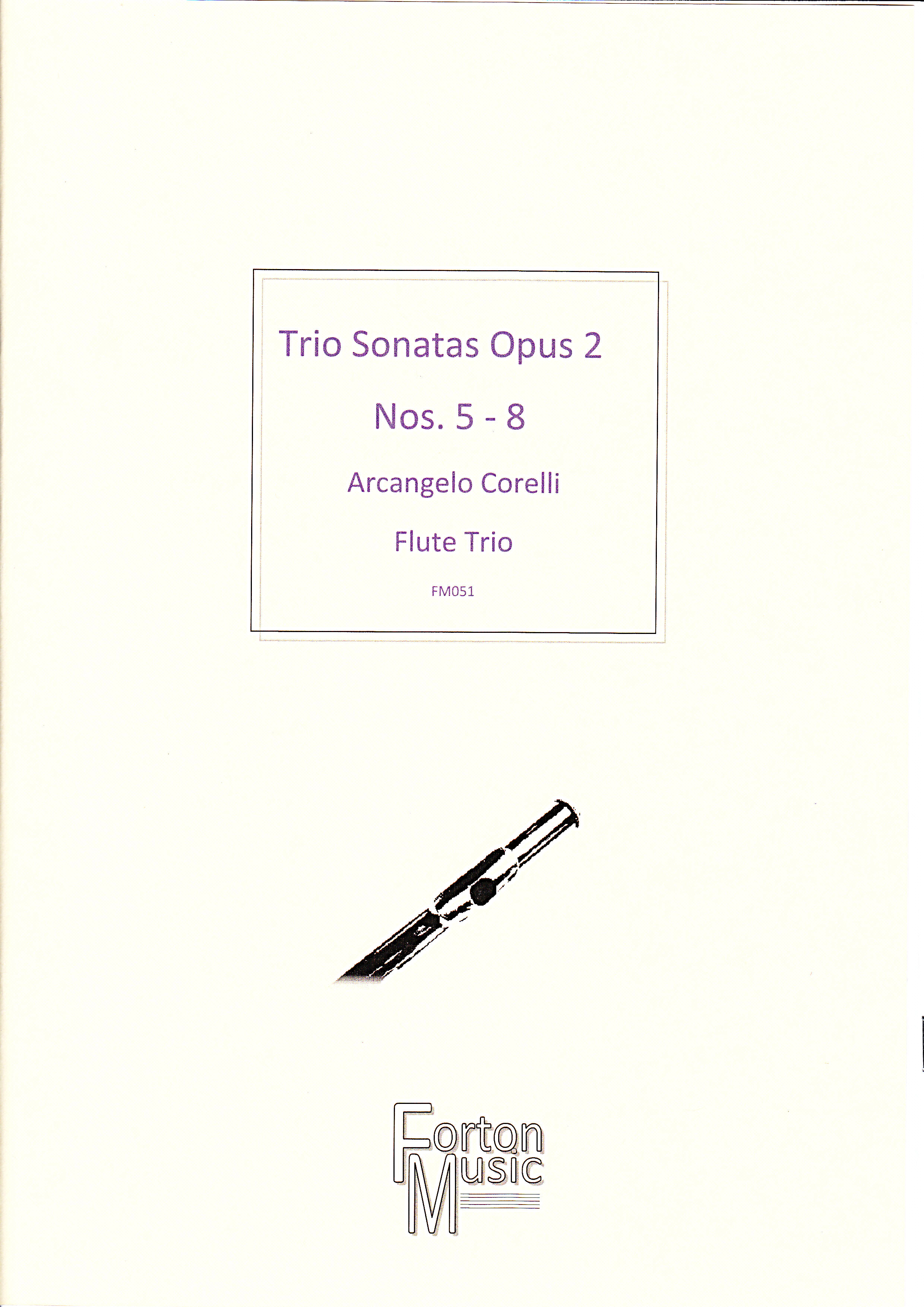 TRIO SONATAS Op.2 Nos.5-8