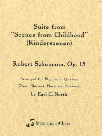 SCENES FROM CHILDHOOD Suite  Op.15 (score & parts)