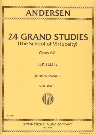 24 GRAND STUDIES Op.60 Volume 1