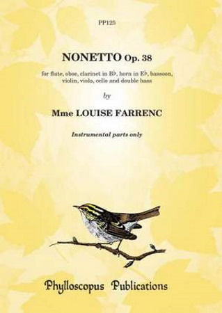 NONETTO Op.38 (set of parts)