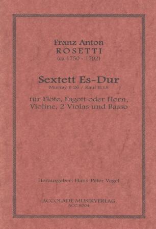 SEXTET in Eb major (score & parts)