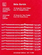 18 DUETS FOR TWO FLUTES