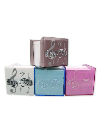 MEMO NOTE BLOCK Treble Clef (Pink)