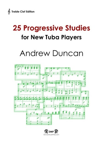 25 PROGRESSIVE STUDIES (treble clef)