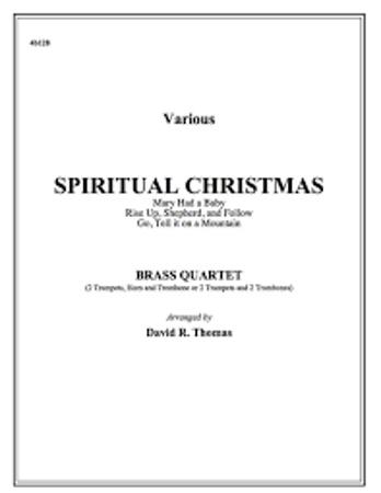 A SPIRITUAL CHRISTMAS (score & parts)