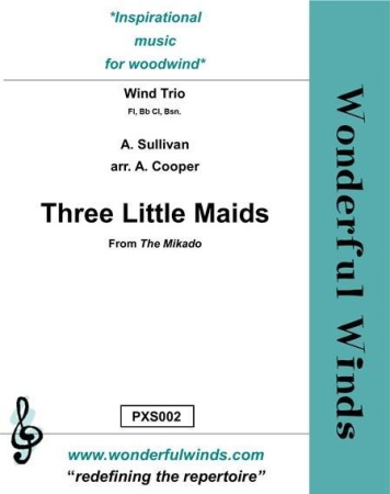 THREE LITTLE MAIDS score & parts