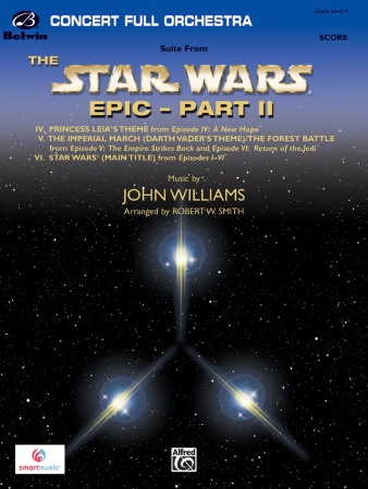 THE STARS WARS EPIC - PART II Suite (score & parts)