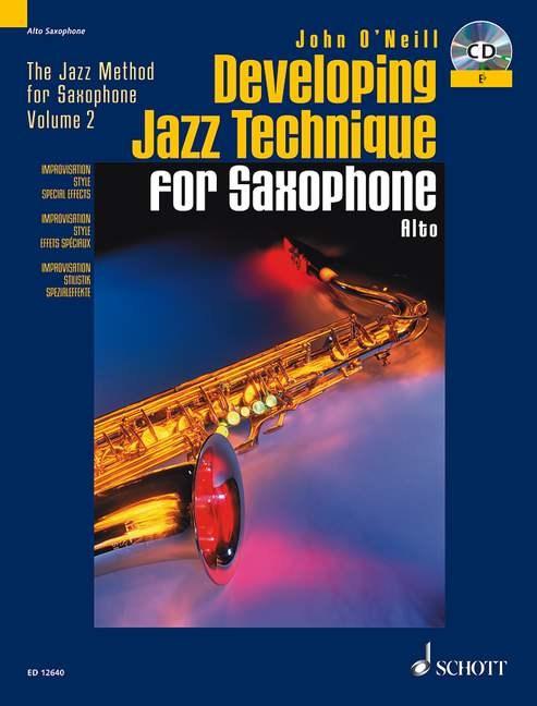 DEVELOPING JAZZ TECHNIQUE + CD (Eb Edition)