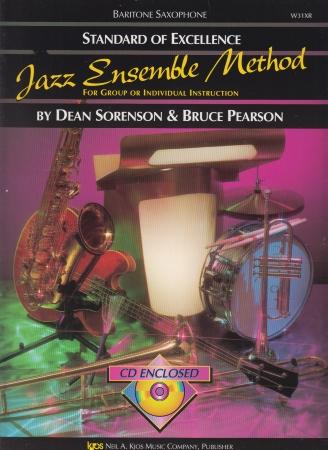 STANDARD OF EXCELLENCE Jazz Ensemble Method + CD Baritone Sax