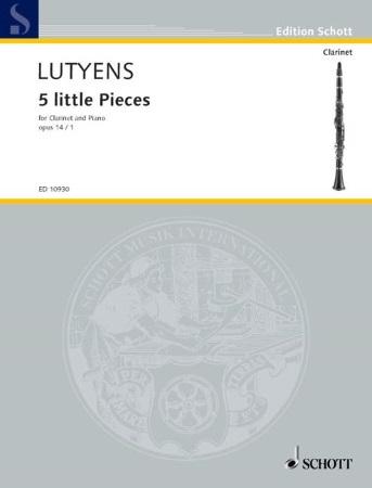 FIVE LITTLE PIECES Op.14 No.1