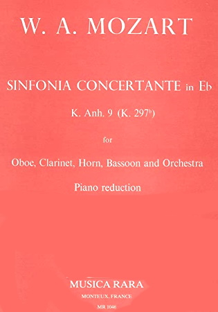 SINFONIA CONCERTANTE in Eb major KV297b