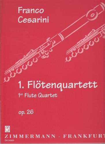 FLUTE QUARTET No.1 Op.26 (score & parts)