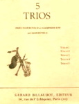 CINQ TRIOS No.3