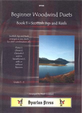 BEGINNER WOODWIND DUETS Book 1 Scottish Jigs & Reels