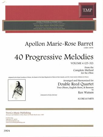 40 PROGRESSIVE MELODIES Volume 4