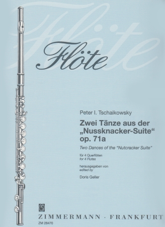 TWO DANCES from The Nutcracker Op.71a (score & parts)